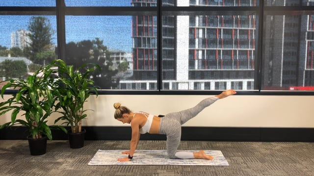 20min challenging pilates workout