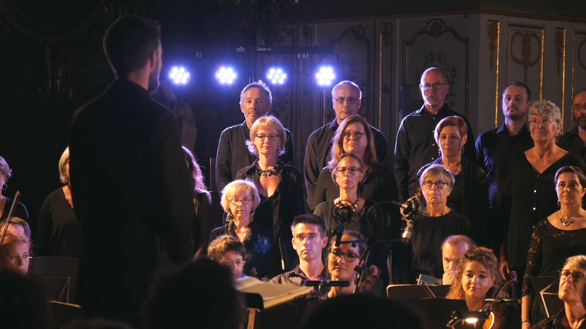 Funérailles de la Reine MARY de PURCELL et le Requiem de CHERUBINI - 2018