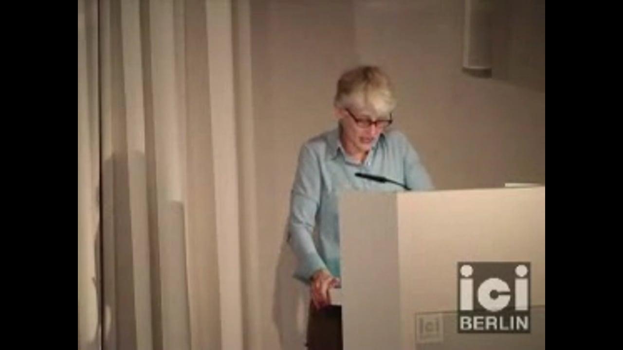 Talk by Elizabeth Povinelli (Part II)