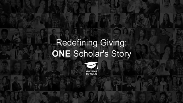 ONE Scholar's Story, Greystar