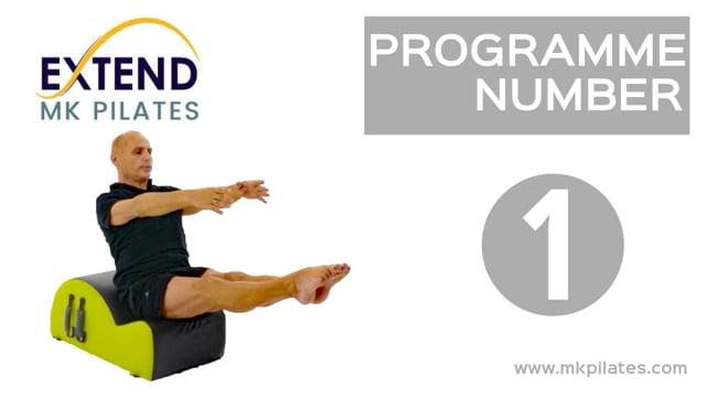 MK Pilates Extend Programme 01 - On-Demand