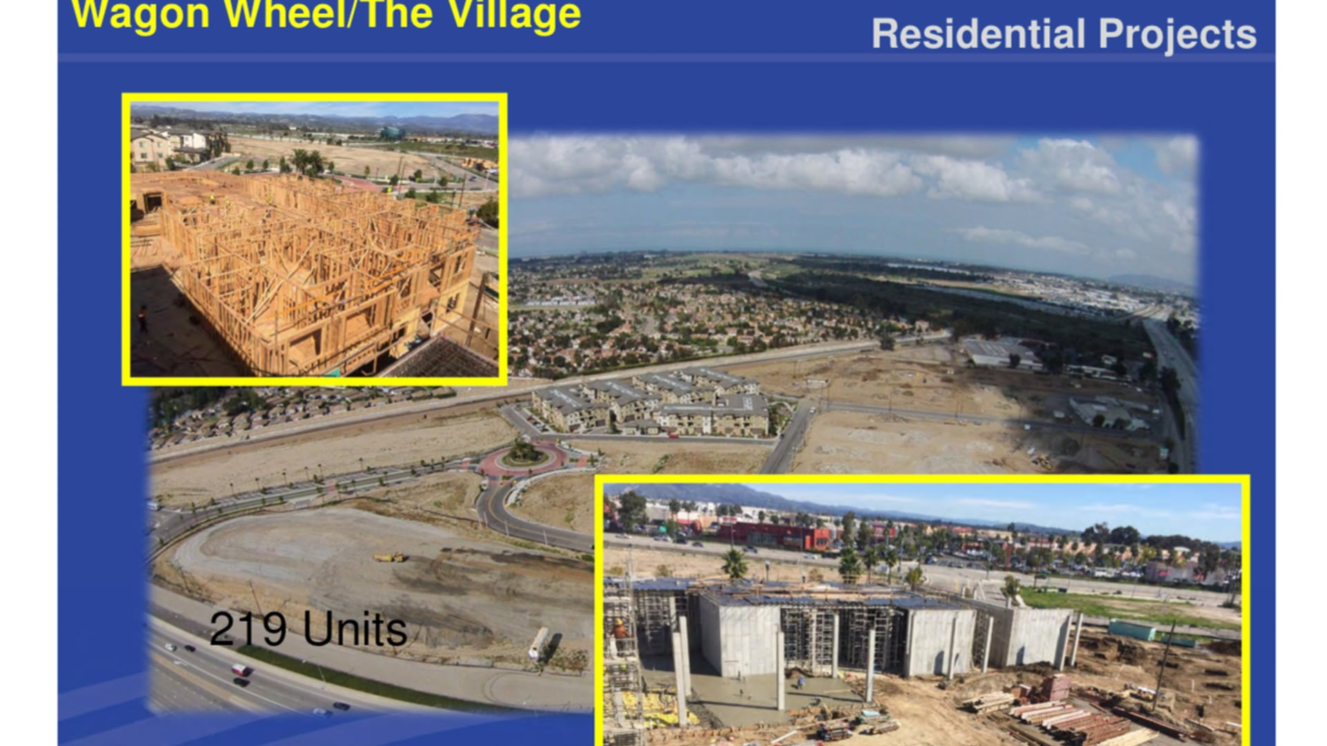 8-18 DEVELOPMENT UPDATE-  Oxnard Residential projects, The Village, Park Place at Wagon Wheel