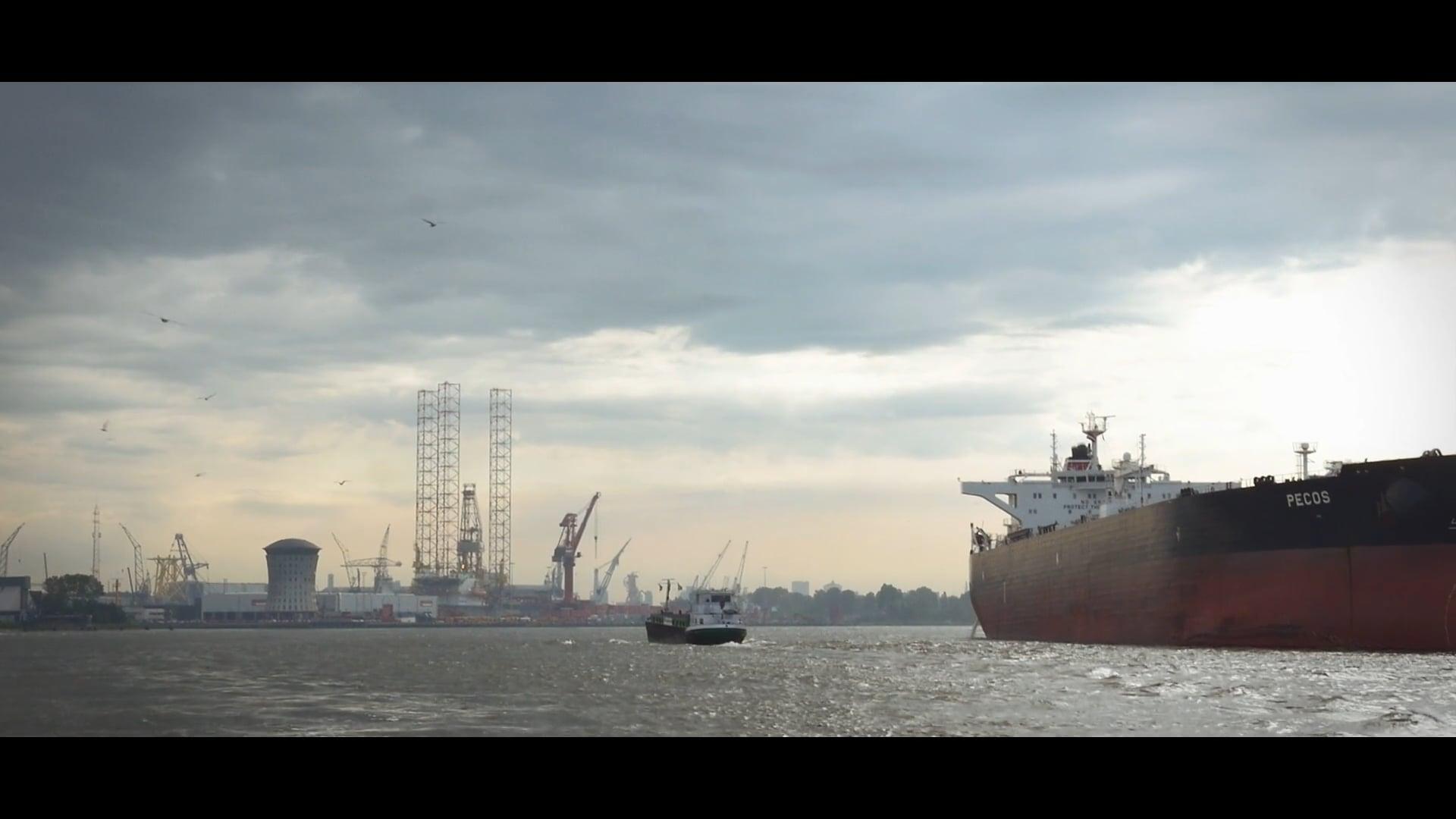 Corporate movie KRVE Rotterdamse haven