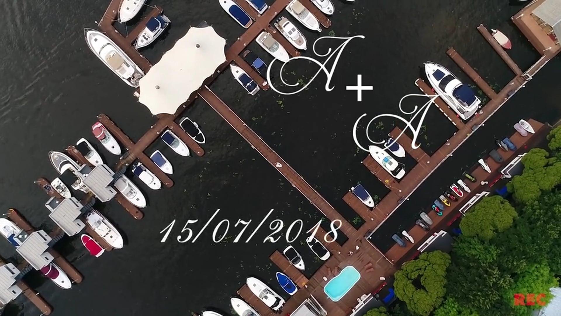 Александр и Алина 15.07.2018