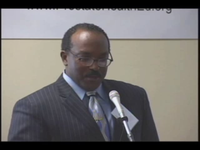 Mr. Jeffrey Jones speaks at the 2007 summit