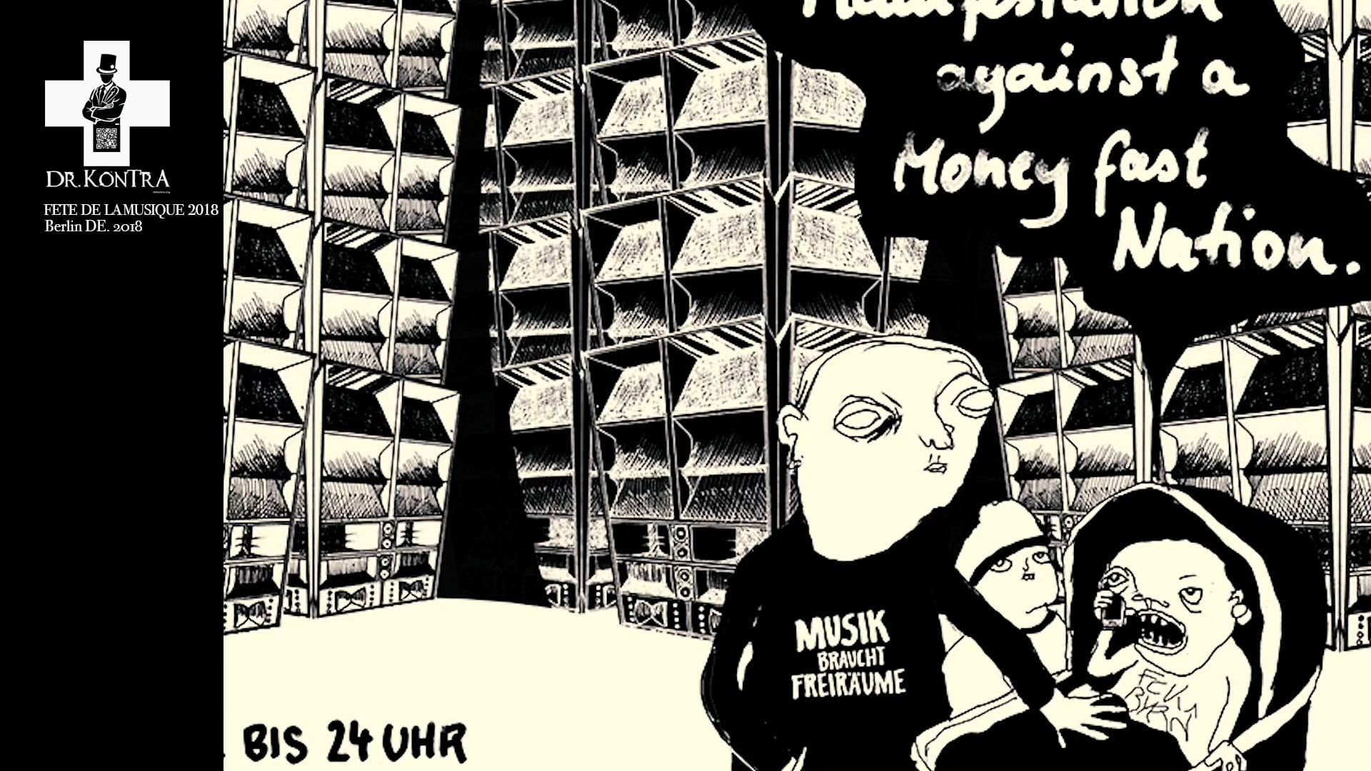 DRKONTRA@ FETE DE LA MUSIQUE 2018 - BERLIN