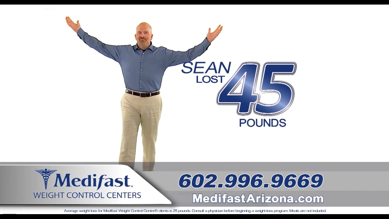 Sean Lost 45lb and 61in at Medifast AZ
