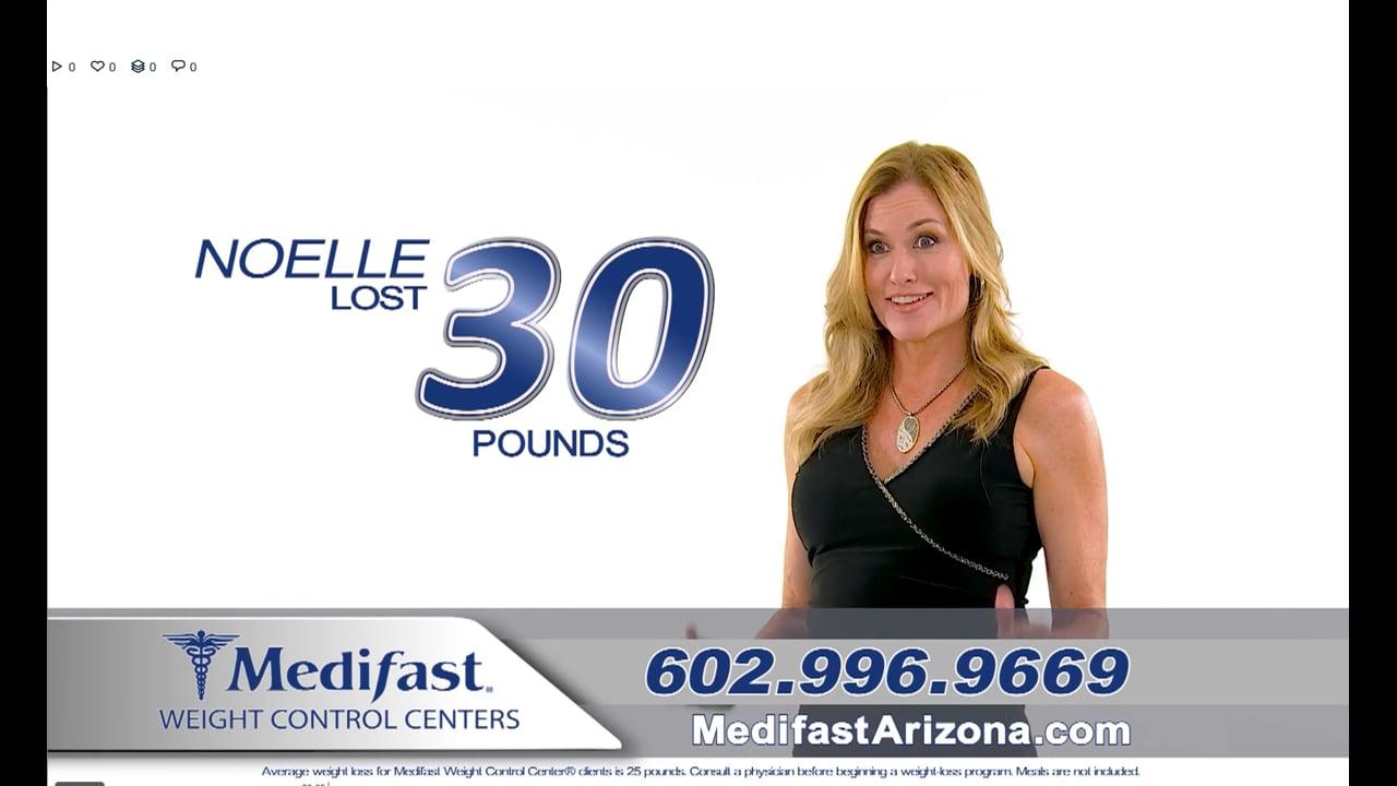 Noelle Lost 30lbs with Medifast Arizona