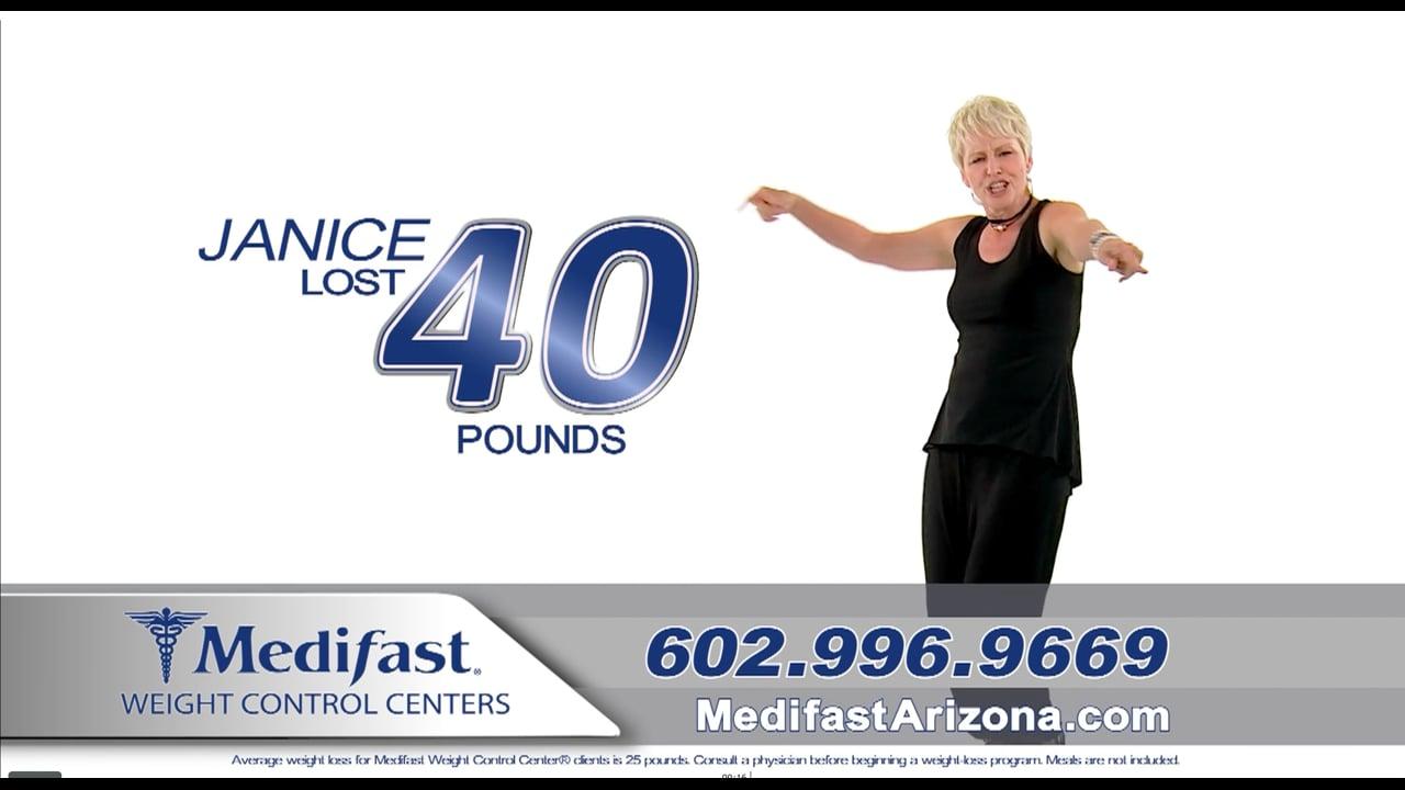 Janice Lost 40lbs at Arizona Medifast