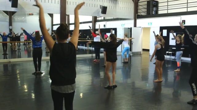 Teaching dance to primary students - eClass 4 - Musical Theatre with Zac Jaffar