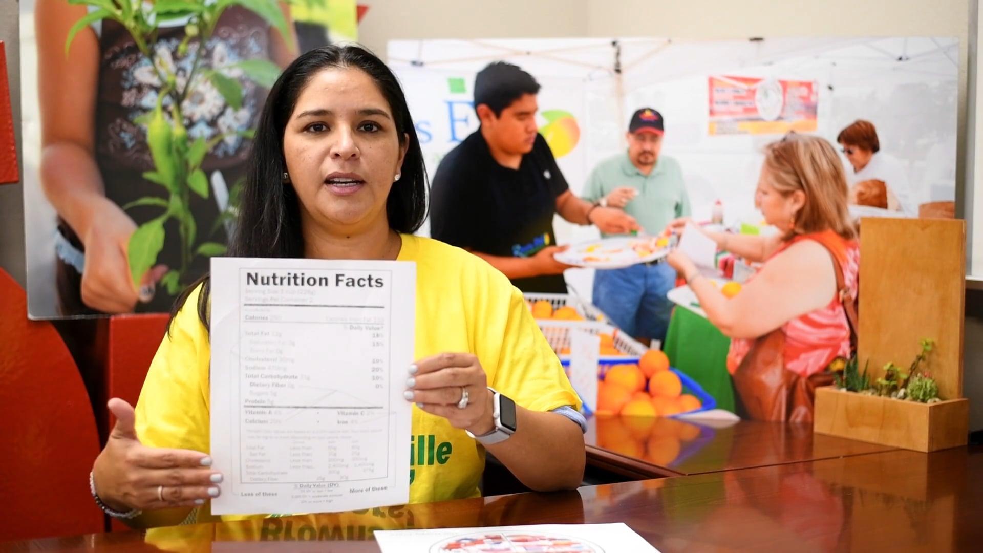 Tu Salud Si Cuenta - Entendiendo la Etiqueta de Nutrición