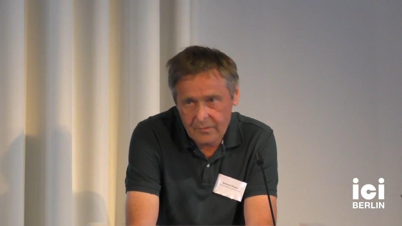 Introduction by Reinhard Wegner