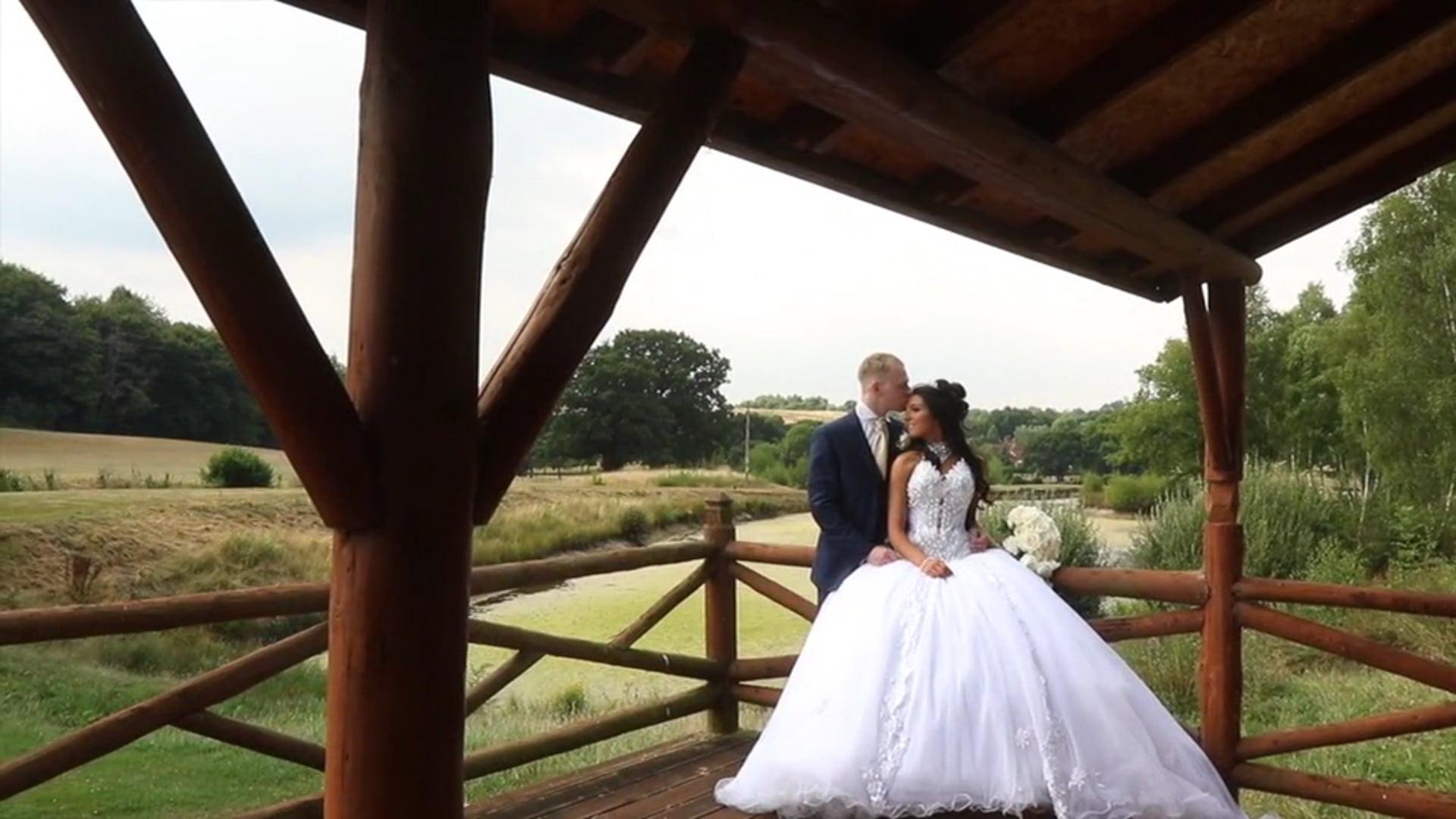 Laura & Ashley's Wedding Movie, East Horton Golf Centre, 21st July 2018