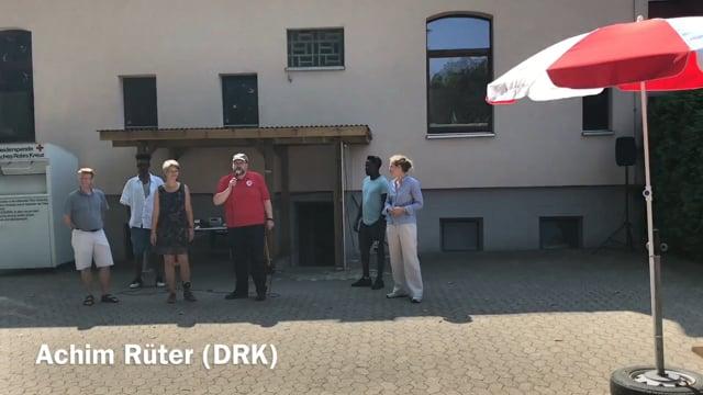 Sommerfest 2018 beim DRK mit Lehrte hilft - Ansprache Achim Rüter