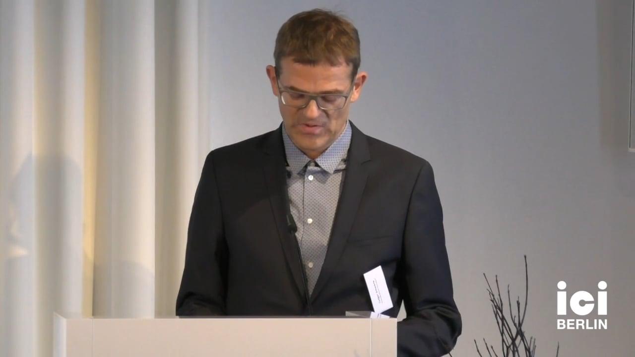 Introduction by Ludgar Schwarte