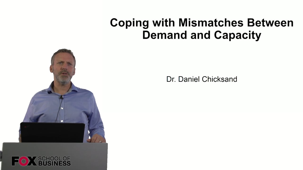 60911Coping with Mismatches Between Demand and Capacity