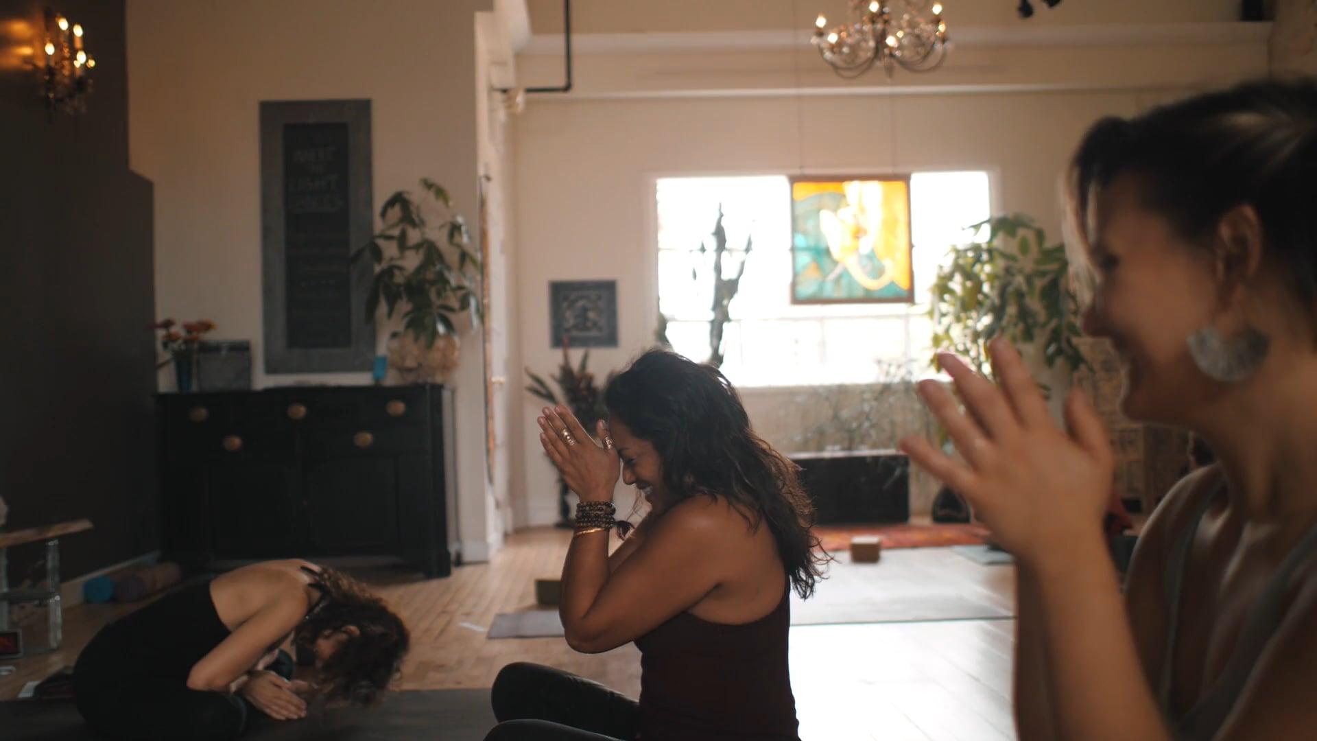 Nirvana Yoga Studio   Invite the Light