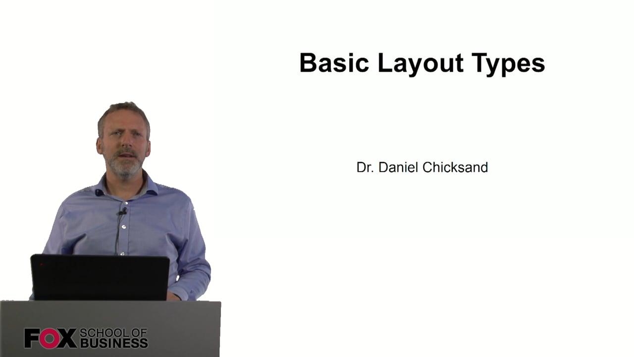 60913Basic Layout Types