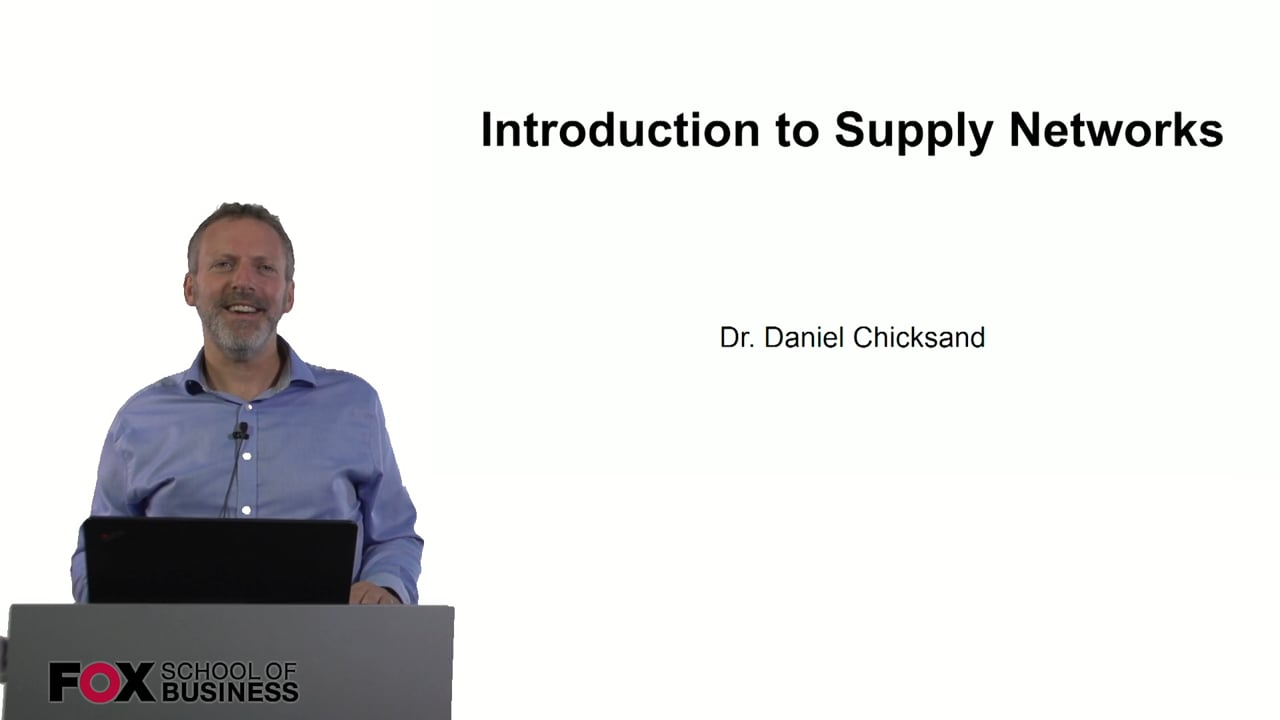 60906Introduction to Supply Networks
