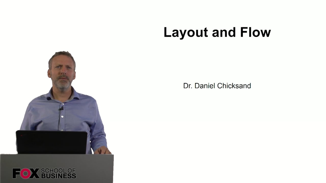 60905Layout and Flow
