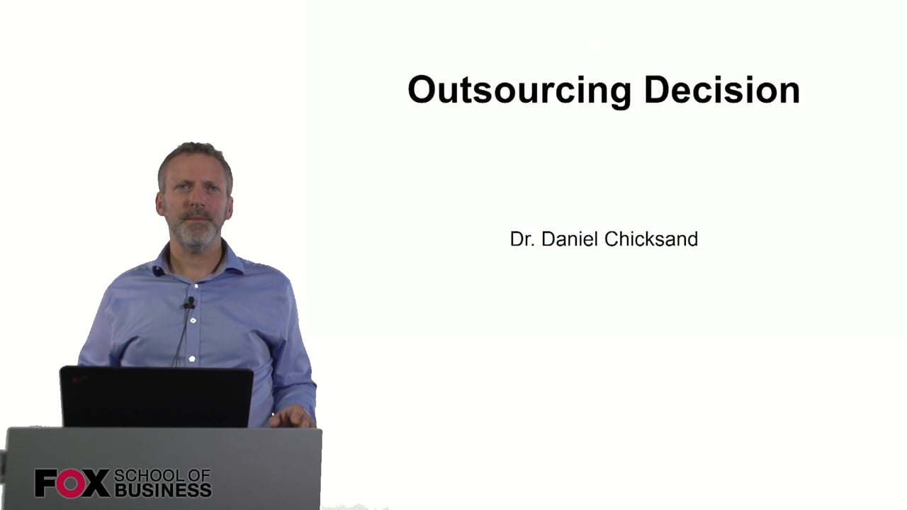60904Outsourcing Decision