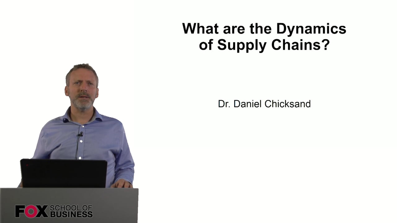 60902What are the Dynamics of Supply Chains