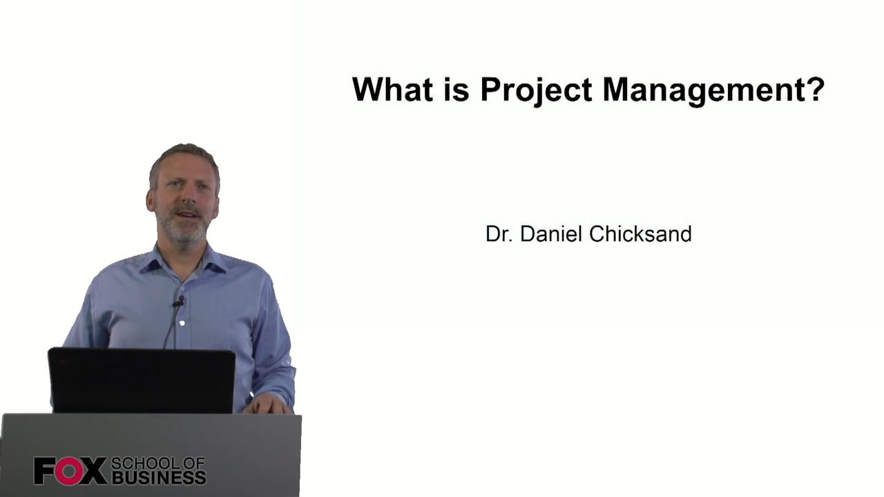 60899What is Project Management