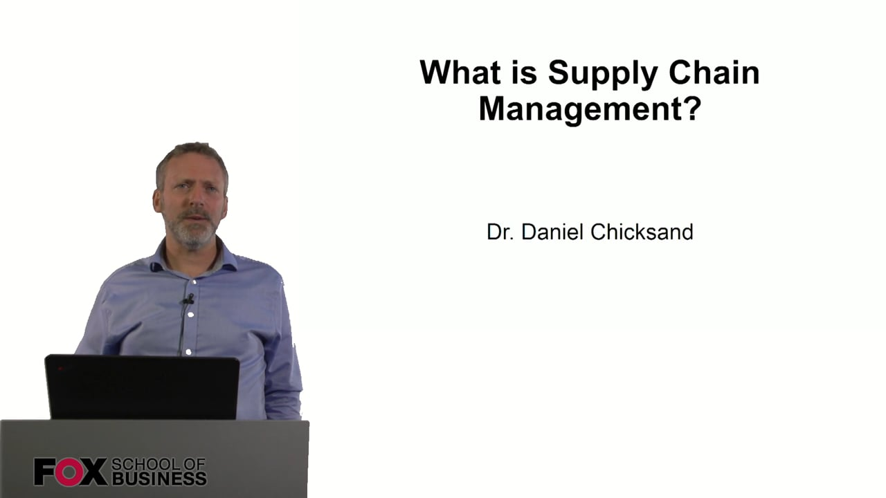 60898What is Supply Chain Management