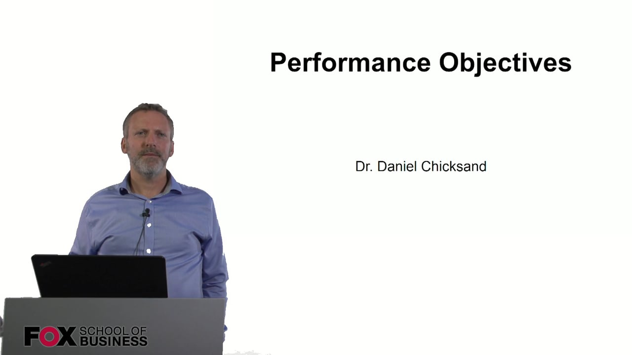 60868Performance Objectives