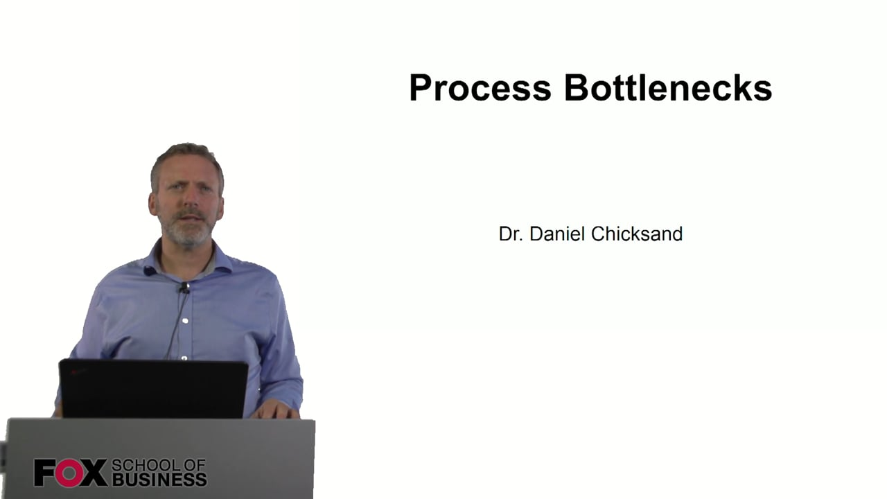 60850Process Bottlenecks