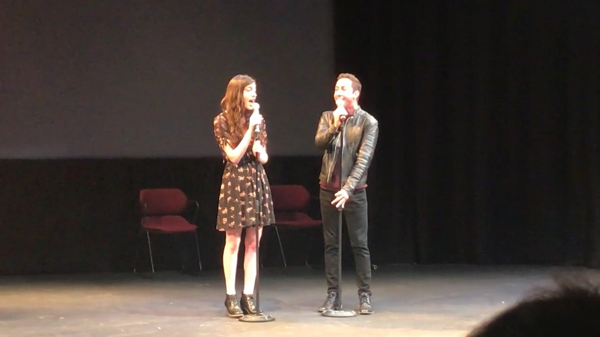 Only Us-Dear Evan Hansen-Emma Freeman and Branden Holzer