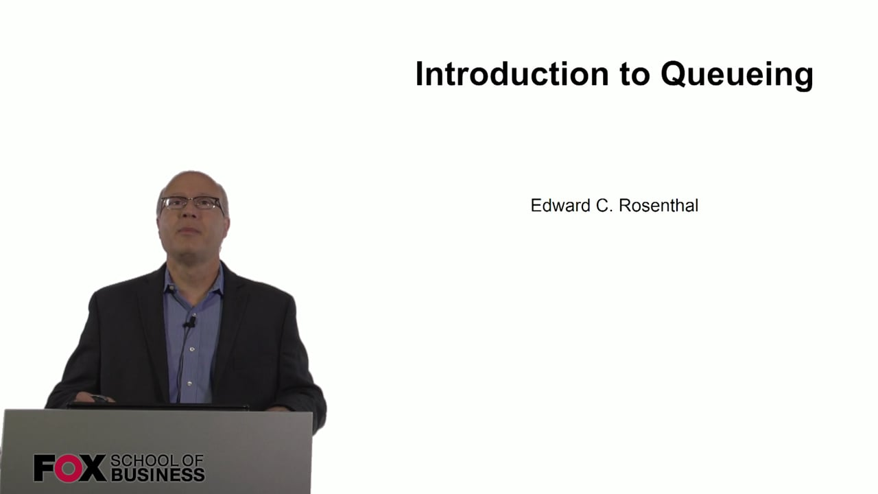 60795Introduction to Queueing – Part 1