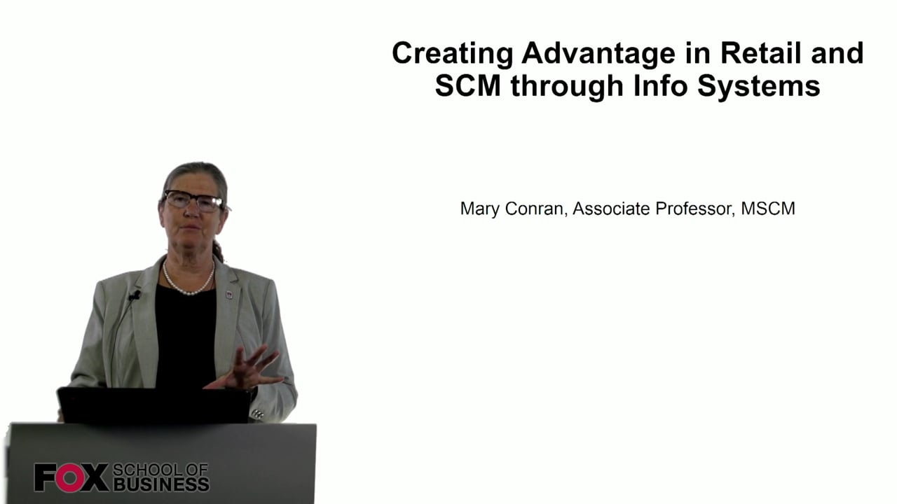 60755Creating Advantage in Retail and SCM through Info Systems