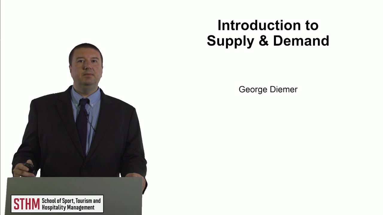 60752Introduction to Supply & Demand