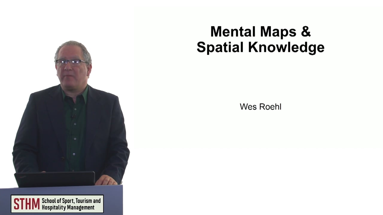 60749Mental Maps and Spatial Knowledge