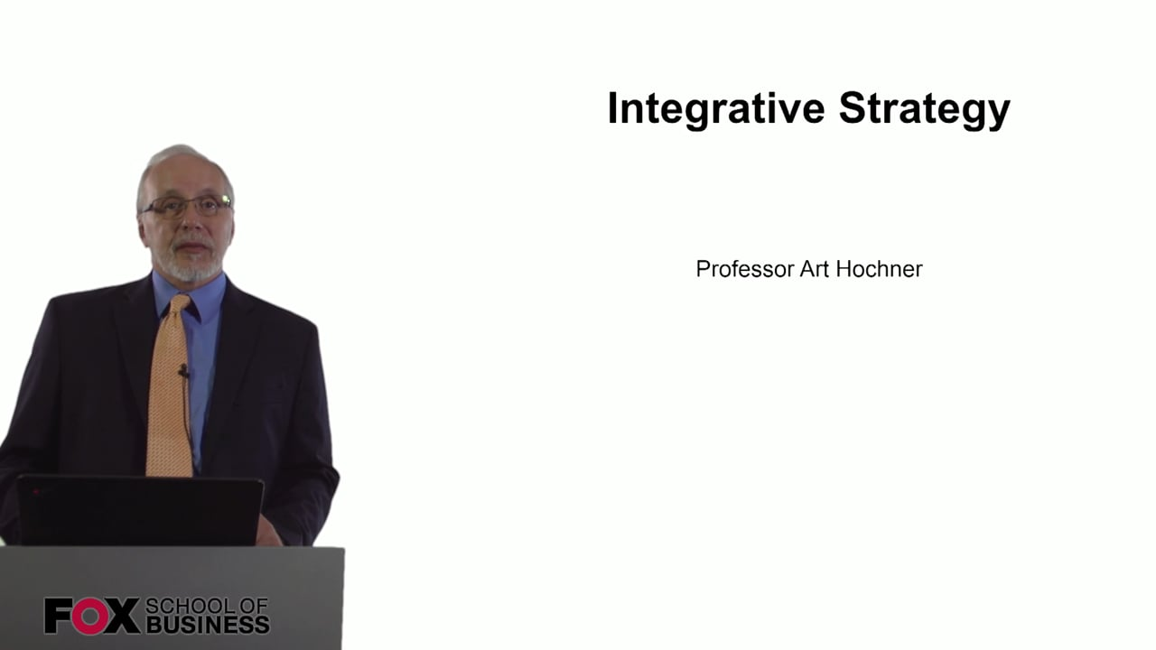 60733Integrative Strategy