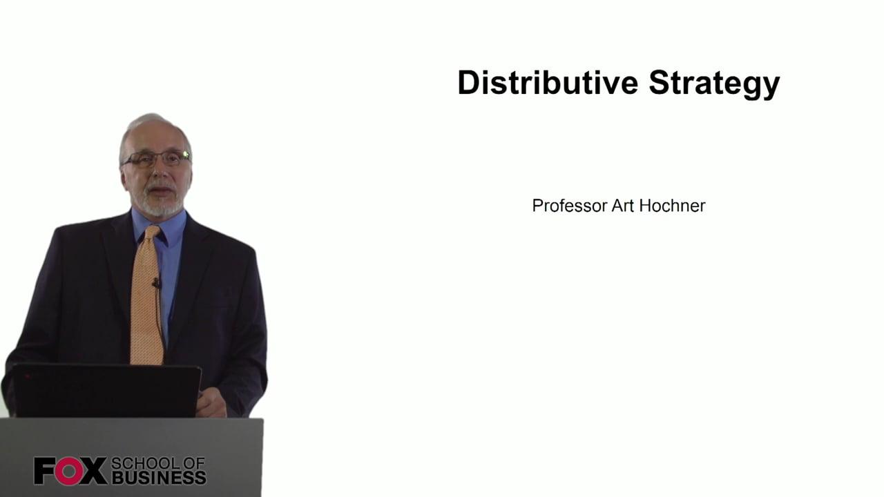 60732Distributive Strategy