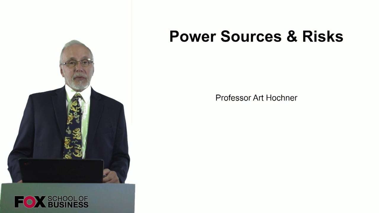 60729Power Sources and Risks