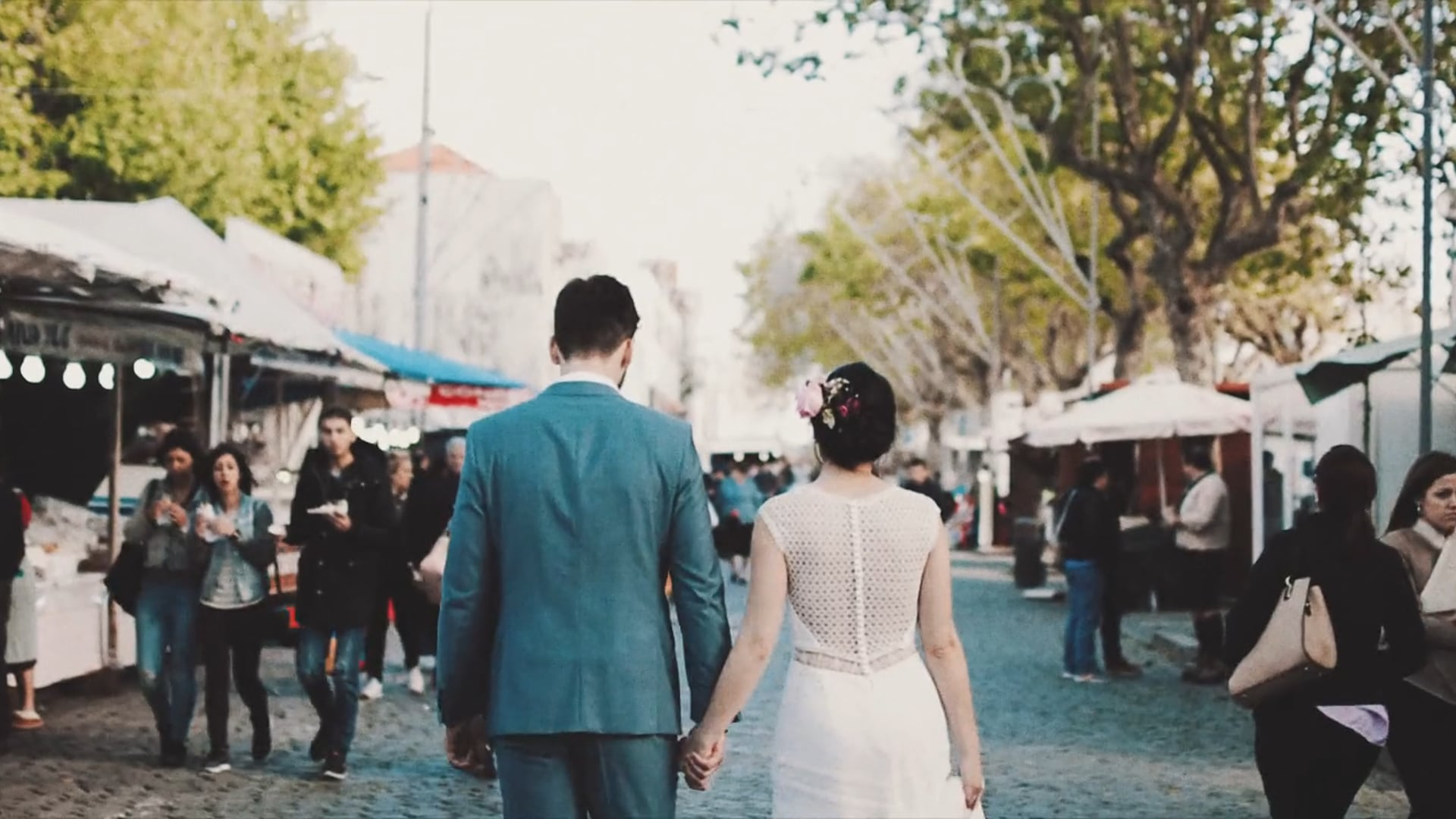 Susana + Diogo {carnival wedding trailer}