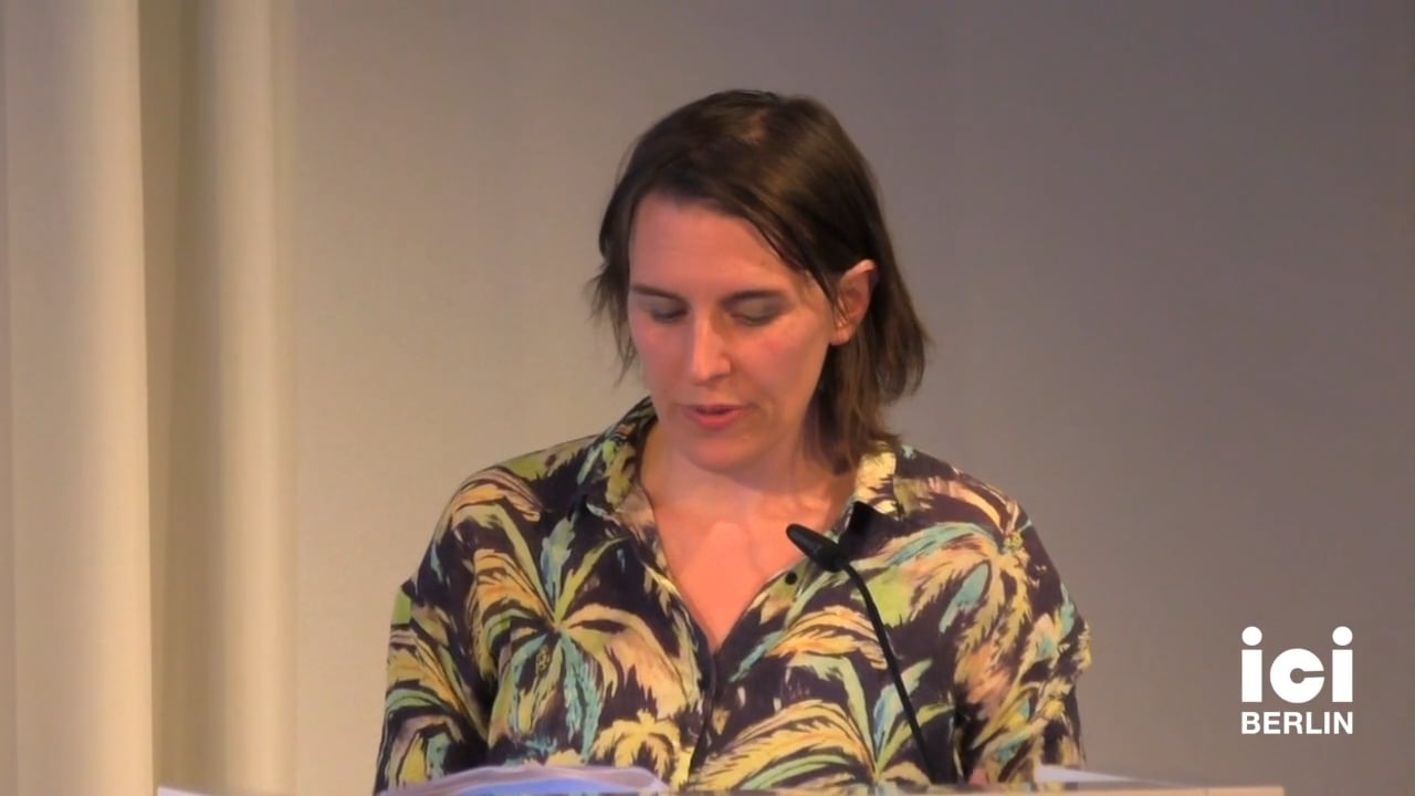 Talk by Magali Nachtergael