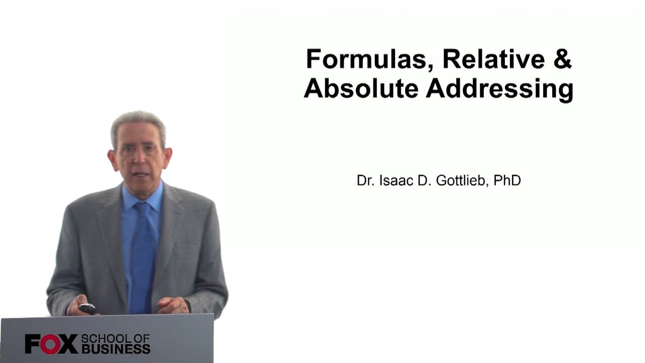 57782Formulas: Relative & Absolute Addressing