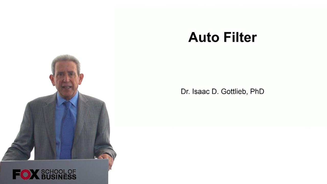 57781Auto Filter