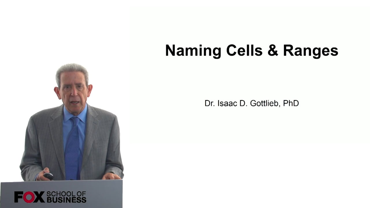 57787Naming Cells and Ranges