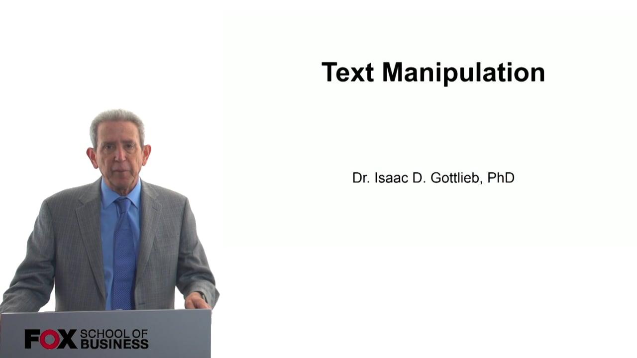 57795Text Manipulation
