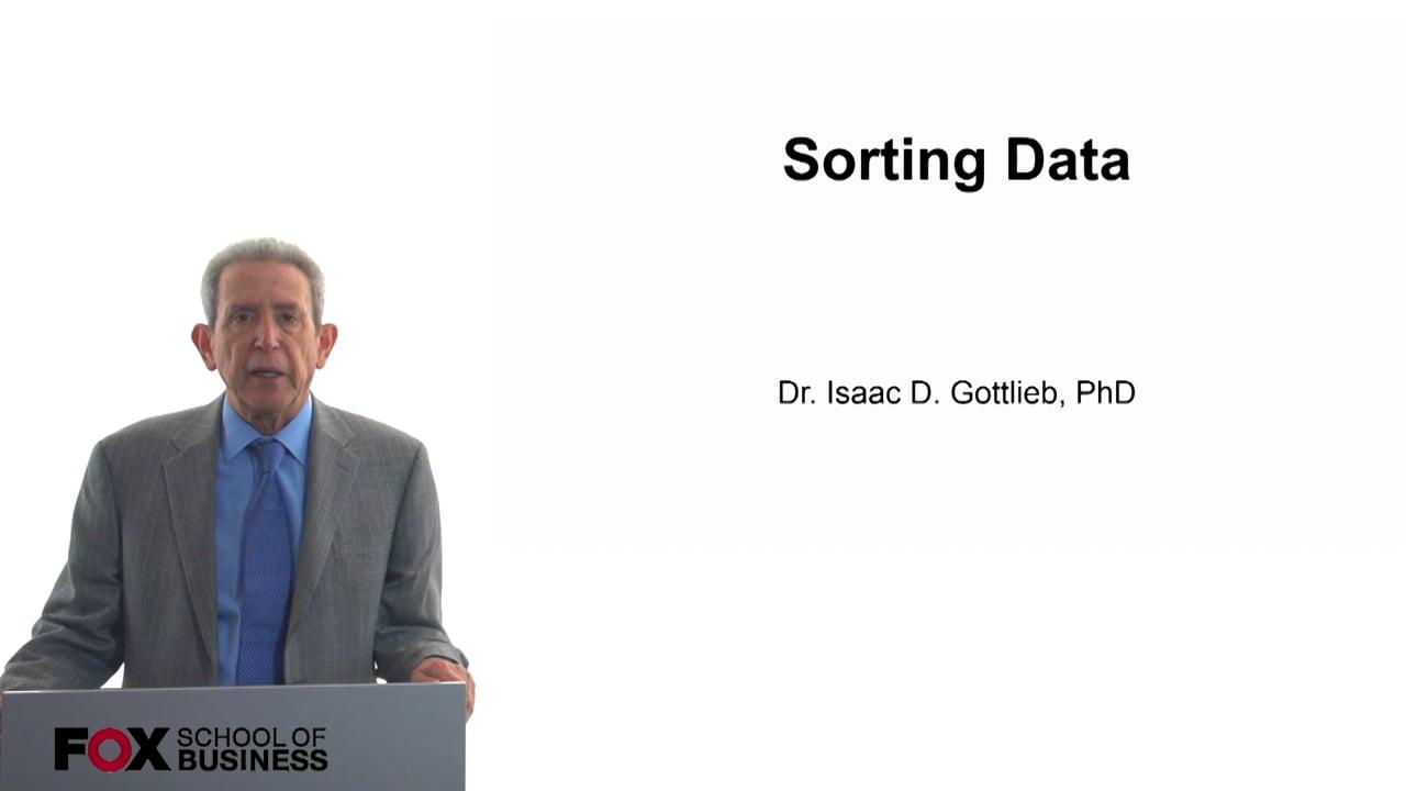 57792Sorting Data