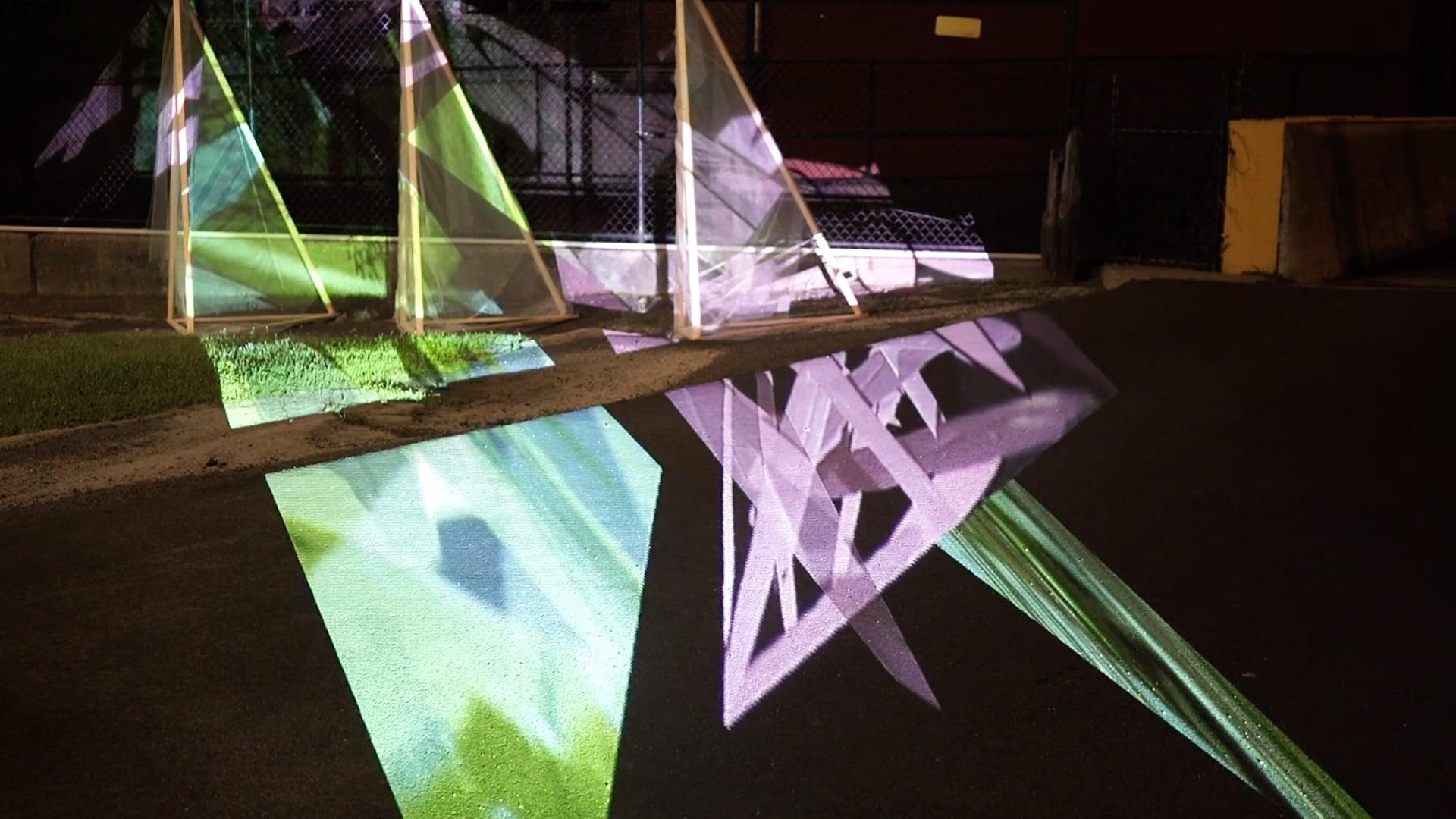 Test installations document video, The Studio at MASS MoCA