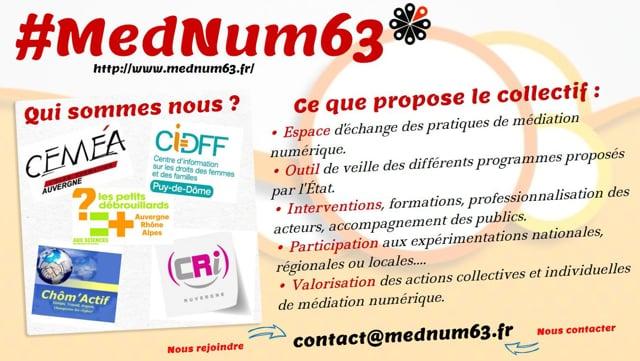 Présentation collectif Mednum63
