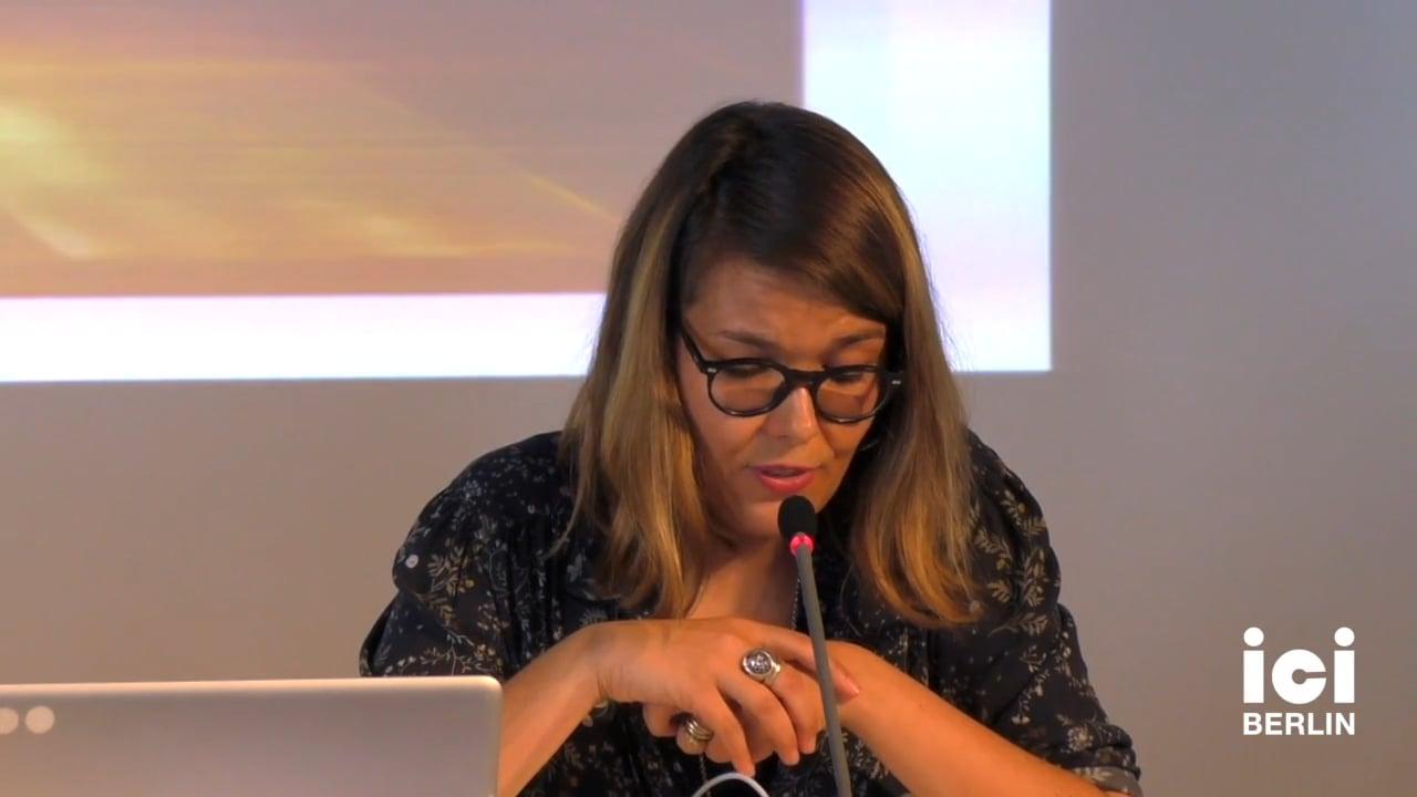 Talk by Cristina Baldacci (Panel II)