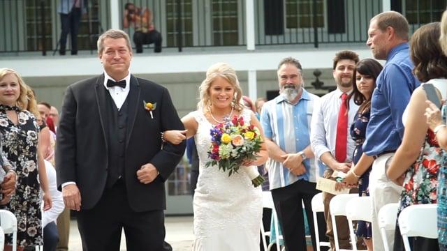Lauren & Scott Wedding Day Finale
