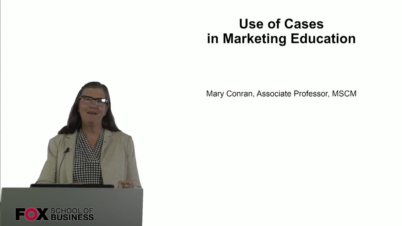 60943Use of Cases in Marketing Education